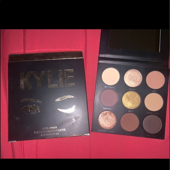 """Kylie Cosmetics Other - Kylie Cosmetics """"The Sorta Sweet Palette"""" (used)"""